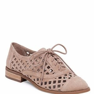 New Jessica Simpson Dalasia Leather Oxfords